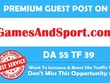 Publish Guest post on Gambling Website DA 55 PA 50