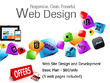 Design and developed your business website.(5 pages)