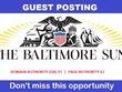 Guest Post on baltimoresun.com , baltimoresun - DA 91 , PA 61
