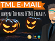 Halloween email newsletter