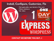 Install,configure, fix or customize wordpress