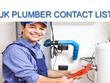 UK Plumbers Contacts / Emails list