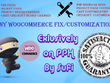 Fix and customize wordpress shop or woocommerce