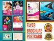 Design Any Flyer Brochure, Postcard In 24 Hr