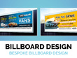 Design you a banner/billboard/signage
