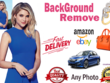 Do 20 images background removal fast delivery