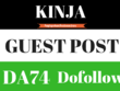 Write and Publish A Guest Post On Kinja DA-78