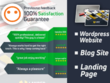 Create Modern Wordpress Website , Blog Site, Landing Page