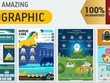 Design an exclusive infographic + unlimited revisions