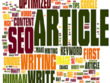 Write quality and flawless 500 words article