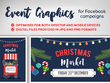 Design Event Graphics for your Facebook campaign