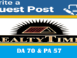 Write and Publish Guest Post On Realtytimes DA75+ with dofollow