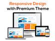 Design professional look blog design with premium theme