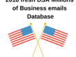 2018 fresh USA 25 Million Business email database
