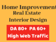 Guest Post on Real Estate or Interior Design Niche DA80+