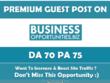 Write & Publish Guest Post on Business-opportunities.biz - DA 77