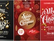 Bespoke logo design Christmas&Newyear design offer 1 Card+Banner