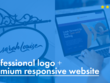 Create a logo and 1 page responsive website for your business