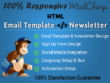 Design Responsive HTML Email Template And Newsletter