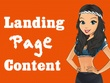 Write Attention Grabbing Content For Landing Page or Home Page