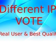 200 Different USA ip online contest votes