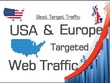 USA Targeted 1500+ daily Google SEO organic traffic for 30 days