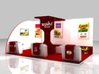 Exhibition Booth And Kiosk For Advertisement