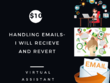 Handle Your Emails On Daily Basis in $10 for 2 Hours