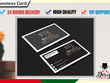 Design your Professional Standard business Card or Loyalty card