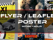 Design a flyer, leaflet or a poster within 1 hour