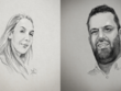 Draw your portrait photo by pencil sketch