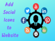 Connect Social Media Icons To Your Website