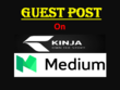 Write and publish a guest post on Kinja and Medium
