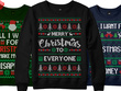 Do Ugly Christmas Sweater And T Shirt Design For Teespring