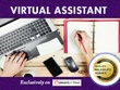 Be Your Professional Virtual Assistant For Data Entry / 2hrs