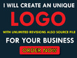 Do professional logo +Unlimited Revision+ Source Files