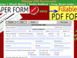 Create  2 Pages Fillable PDF Forms within 2 hours