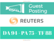 Guest Post on REUTERS - Reuters.com - DA 94 with Dofollow Link