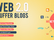 Create 10 Web 2.0 Buffer Blog with Login, Unique Content, Image
