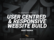 Build user centred & responsive 5 page TOP QUALITY website