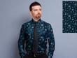Add fashion mock up pattern design clothing garment