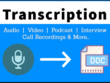 Transcribe Audio & Video file of 30 minutes