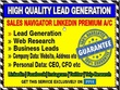 Deliver 100 High Quality Business Leads from Linkedin