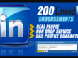 Boost your Linkedin & Get you 200 Endorsements
