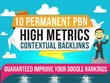 Contexual Backlinks, Homepage backlinks and Guest post service