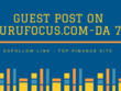 Do Guest Post on GURU FOCUS.COM-DOFOLLOW LINK-DA 77