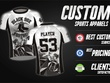 Custom Jersey Design Or Sublimation Jersey