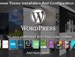 Install and setup any premium wordpress theme as per the demo