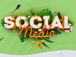 Design one social media post for your network