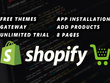 Create Shopify store or Shopify drop-shipping & SEO friendly